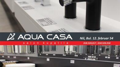 Photo of BOGAT IZBOR kvalitetne opreme za kupatilo po povoljnim cenama – AQUA CASA