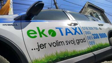 Photo of Koristim EKO TAXI, jer volim svoj grad!