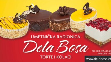 Photo of DELA BOSA – Torte i kolači