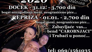 Photo of Nezaboravan doček i repriza Nove godine u RESTORANU DOCKO!