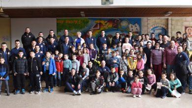 """Photo of Futsal reprezentacija u poseti OŠ """"Kole Rašić u Nišu"""