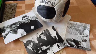 Photo of Pele, Knez i Jašin iz albuma niškog sportskog asa ubuduće u zbirci Narodnog muzeja