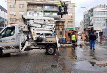 """Photo of JKP """"Parking servis"""": Zamena neispravnih sijalica i skidanje novogodišnje dekoracije"""