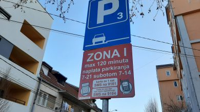 Photo of Izmena režima parkiranja zbog Kupa Radivoja Koraća
