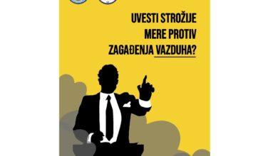 Photo of Uvesti strožije mere protiv zagađenja vazduha?