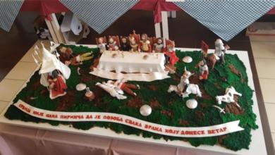 """Photo of Torta """"Kosovski boj"""" pobednik Međunarodne humanitarne """"Tortijade"""" 2020."""