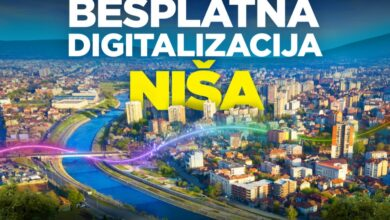 Photo of Niš postaje GIGA grad, SBB nastavlja besplatnu digitalizaciju gradova u Srbiji!