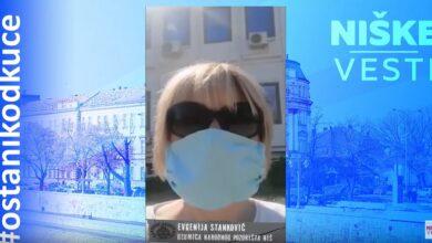 Photo of OSTANI KOD KUĆE: Evgenija Stanković, glumica (VIDEO)