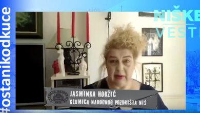 Photo of OSTANI KOD KUĆE: Jasminka Hodžić, glumica