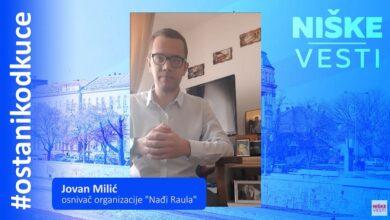 """Photo of OSTANI KOD KUĆE: Jovan Milić, osnivač organizacije """"Nađi Raula"""""""