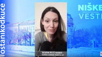 Photo of OSTANI KOD KUĆE: Katarina Mitić Pavlović, glumica (VIDEO)