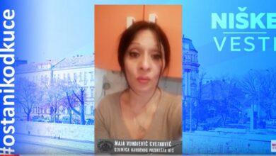Photo of OSTANI KOD KUĆE: Maja Vukojević Cvetković, glumica (VIDEO)