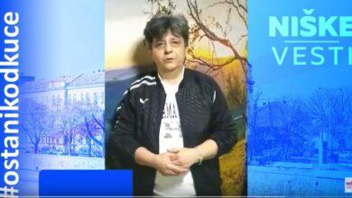 Photo of OSTANI KOD KUĆE: Milka Brajković Ranđelović, niška humanitarka