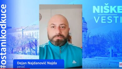 Photo of OSTANI KOD KUĆE: Dejan Najdanović Najda, pevač