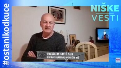Photo of OSTANI KOD KUĆE: Dragoslav Savić Safa, glumac (VIDEO)