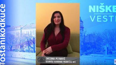 Photo of OSTANI KOD KUĆE: Snežana Petrović, glumica (VIDEO)