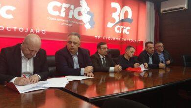 Photo of SPS i Jedinstvena Srbija potpisali koalicioni sporazum i u Nišu