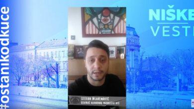 Photo of OSTANI KOD KUĆE: Stefan Mladenović, glumac (VIDEO)