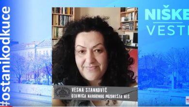 Photo of OSTANI KOD KUĆE: Vesna Stanković, glumica (VIDEO)