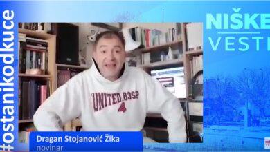 Photo of OSTANI KOD KUĆE: Dragan Stojanović Žika, novinar
