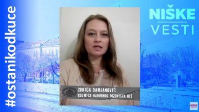 Photo of OSTANI KOD KUĆE: Zorica Damjanović, glumica (VIDEO)