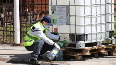 Photo of Podela dezinfekcionog sredstva na 25 lokacija