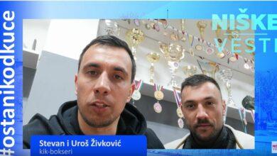Photo of OSTANI KOD KUĆE: Stevan i Uroš Živković, kik-bokseri (VIDEO)