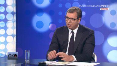 Photo of Vučić: Predložićemo policijski čas od četvrtka do subote