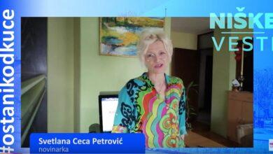 Photo of OSTANI KOD KUĆE: Svetlana Ceca Petrović, novinarka
