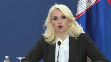 Photo of Kisić Tepavčević: Broj registrovanih slučajeva zaraze virusom korona u jednom danu prvi put ispod 2%