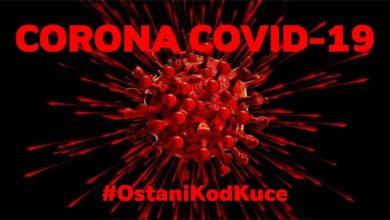 Photo of COVID 19 po okruzima jugoistoka Srbije