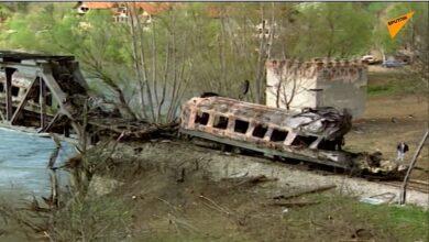 Photo of 21 godina od bombardovanja voza u Grdeličkoj klisuri