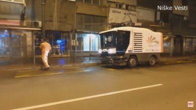 "Photo of JKP ""Medijana"" dezinfikovala autobuska stajališta (VIDEO)"