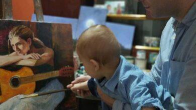 Photo of Njegove slike se nalaze u galerijama širom Srbije