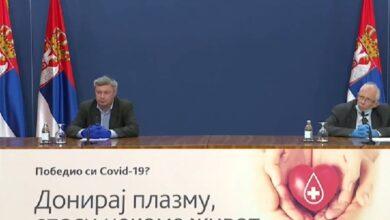 Photo of Još tri osobe preminule od koronavirusa u Srbiji