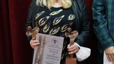 Photo of Glumici Svetlani Mihajlović godišnja nagrada Pozorišta lutaka. Posthumno nagrađen Zoran Lozančić reditelj