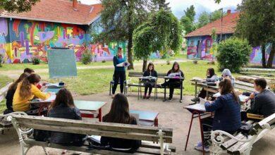"""Photo of OŠ """"Branislav Nušić"""", Donja Trnava: Škola sa galerijom i učionicama na otvorenom"""