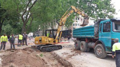 Photo of Radovi na izgradnji fontane i rekonstrukciji tvrđavskog mosta teku po planu
