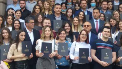 """Photo of Ministar Udovičić uručio stipendije """"Dositeja"""" najboljim studentima"""