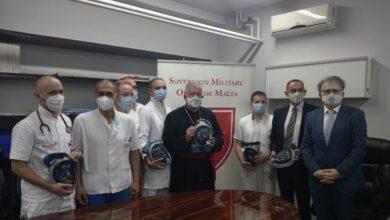 Photo of Suvereni Malteški red donirao specijalne maske Klinici za kardiohirurgiju