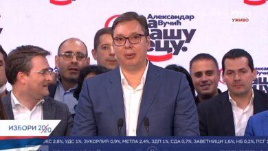 Photo of Vučić: Pobedili smo strahovito i ubedljivo