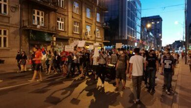Photo of Šesti protest u Nišu završen ispred Gradske kuće
