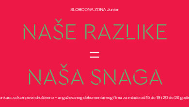 Photo of Besplatni kampovi dokumentarnog filma za mlade iz cele Srbije
