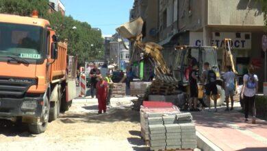 Photo of Uređenje trotoara u Obrenovićevoj kod Margera biće završeno za dve nedelje