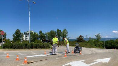 """Photo of JKP """"Parking servis"""": U jeku sezone obeležavanja saobraćajnica"""