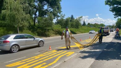 """Photo of JKP """"Parking Servis"""": Radovi na javnoj rasveti i obeležavanju površina i autobuskih stajališta"""