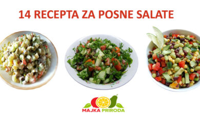 Photo of Svi najbolji recepti za posne salate su ovde na jednom mestu
