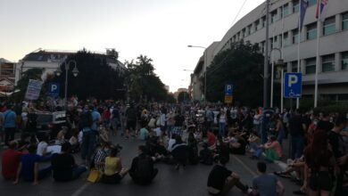 Photo of Protest u Nišu, dan drugi