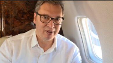Photo of Aleksandar Vučić se iz aviona obratio građanima Srbije (VIDEO)