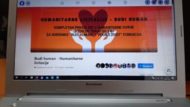 """Photo of Na Fejsbuku oformljena grupa """"Budi human – humanitarne licitacije"""""""
